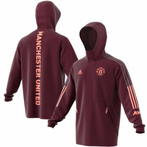 Manchester United Hoodie Jacket 2020-21