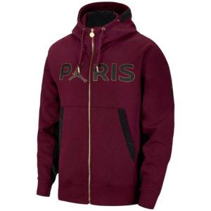 PSG Jordan Fleece Hoodie Jacket
