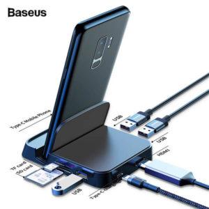 Baseus Mate Docking Type-C mobile phone intelligent HUB docking station Diamu