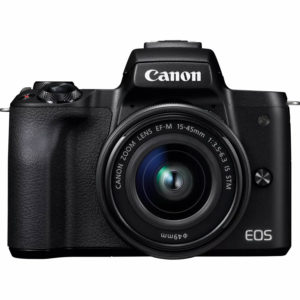 Canon EOS M50 Camera and EF-M 15-45mm IS STM Lens Diamu