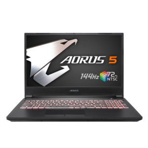 Gigabyte Aorus 5 Core i7 10th Gen GTX 1650Ti
