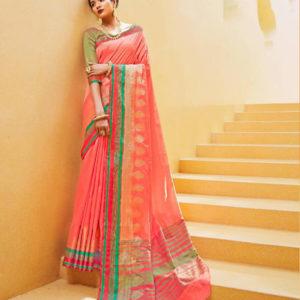 Rajtex Kundan Silk Saree DRKS-106005