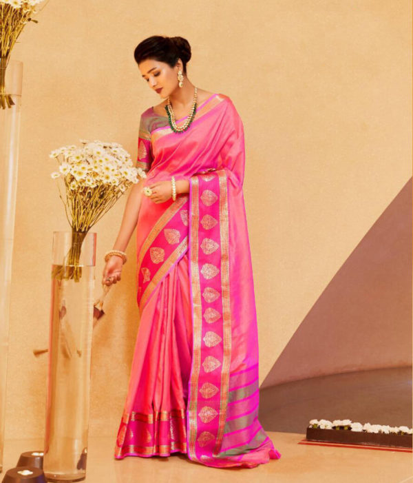 Rajtex Kundan Silk Saree DRKS-106008