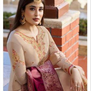 Fiona Satin Georgette Salwar Suits