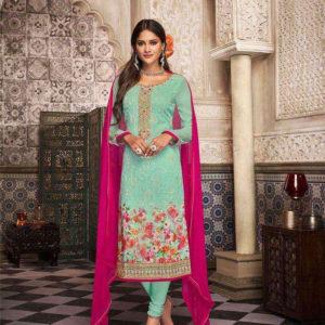 Lavina Georgette Embroidered Salwar Suits