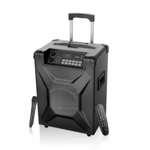 F&D T2 Bluetooth Trolley Speaker with Microphone Diamu
