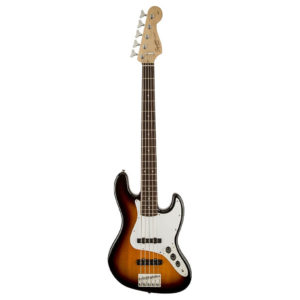 Fender-Squier-Affinity-series-Jazz-Bass-V 5-String-Brown