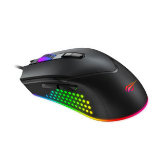 HAVIT GAMENOTE MS814 RGB Backlit Programmable Gaming Mouse Diamu