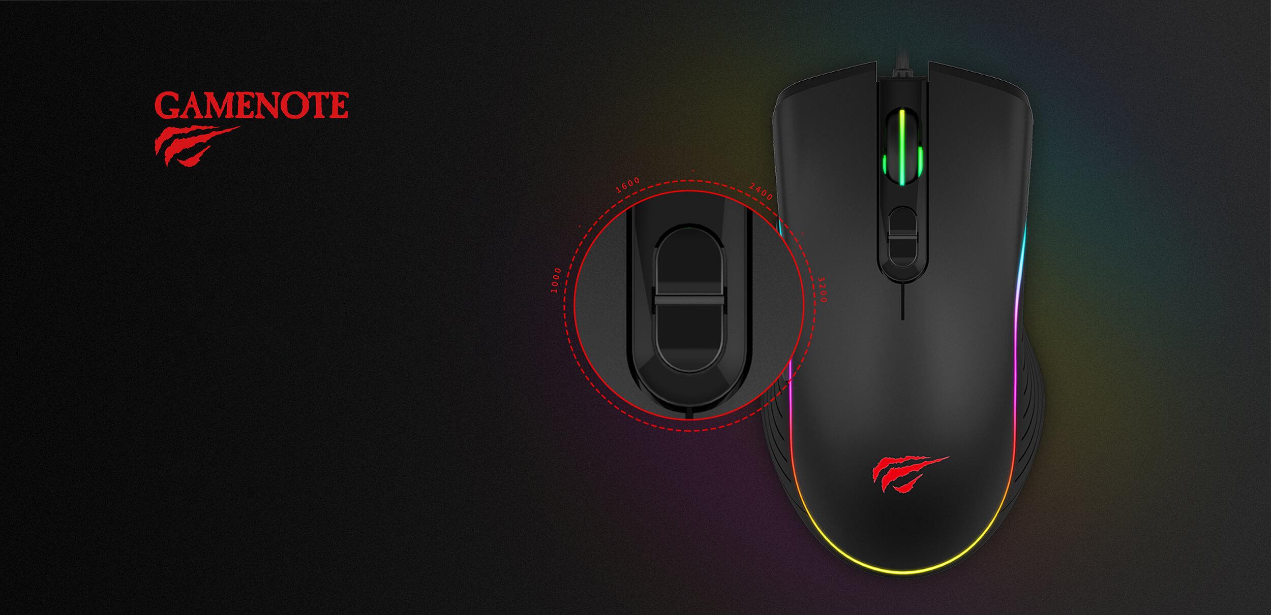 Havit MS1006 Gaming Mouse Diamu