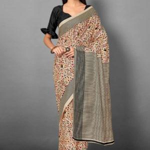Pashmina Silk Saree