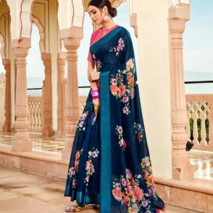 Fancy Casual Wear Saree