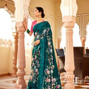 Fancy Casual Wear Saree