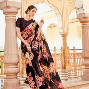 LT Fabrics Fancy Casual Wear Saree