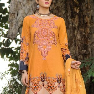 Embroidered Lawn Salwar Suits