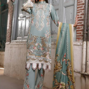 Pure lawn Dress Material