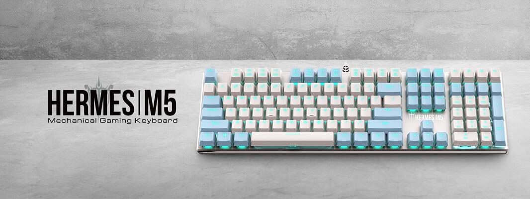 Gamdias-HERMES-M5-White-Mechanical-Gaming-Keyboard