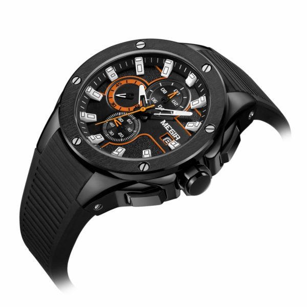 MEGIR-2053-Mens-Chronograph-Sports-Watch-Silicone-Strap
