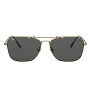 Ray-Ban 0RB8136 Grey Anti-Reflective Titanium Square Sunglasses