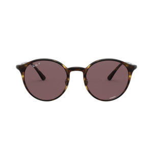 Ray-Ban Rb4336CH Round Sunglasses - Violet