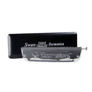 SWAN Chromatic Harmonica SW-1664 Key of C