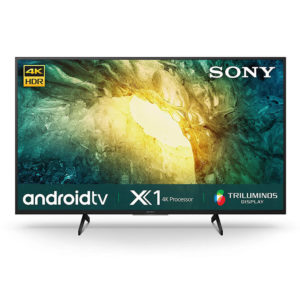 "Sony KD-49X7500H 49"" Slim 4K UHD Smart Android TV"