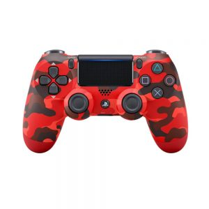 Sony-PS4-Dualshock-4-Wireless-Controller-Red-Camouflage
