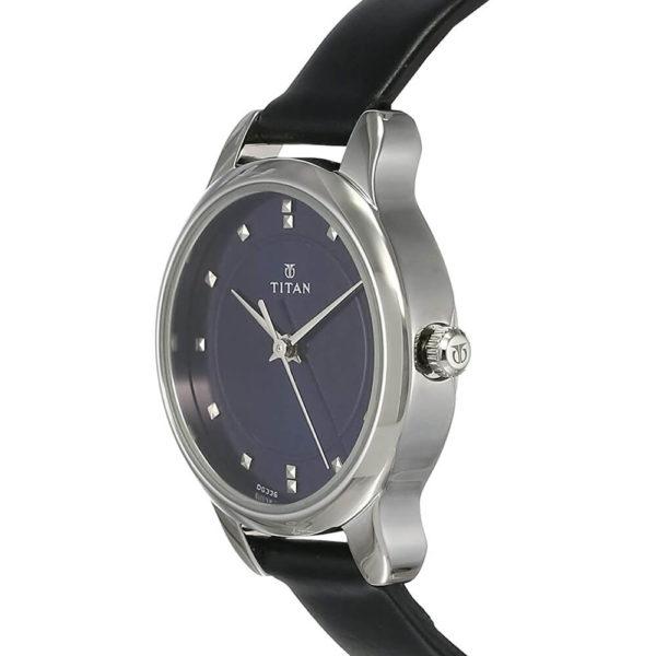 Titan Ladies NeoIi Analog Blue Dial Women's Watch NM2481SL08