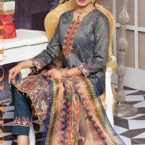 Mysuri Embroidered Lawn Salwar Suits MTF