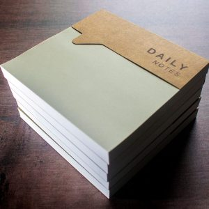 Non Sticky Daily Note Pad