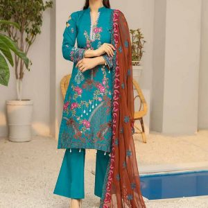 Embroidered Cotton Salwar Suits
