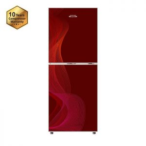 Refrigerator-273-Ltr-Singer-Red