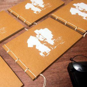 Retro-Vintage-Notebook-Kraft-Paper-Handmade-Sketchbook