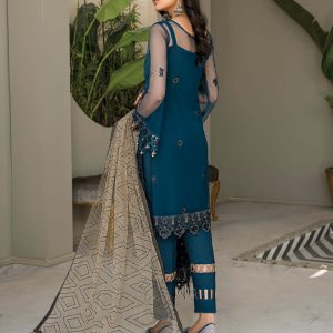 Chiffon Embroidered Salwar Suits