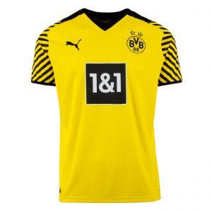 Borussia Dortmund Home Jersey Diamu