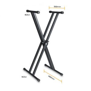 Double-Keyboard-Stand-Weida-WD-612