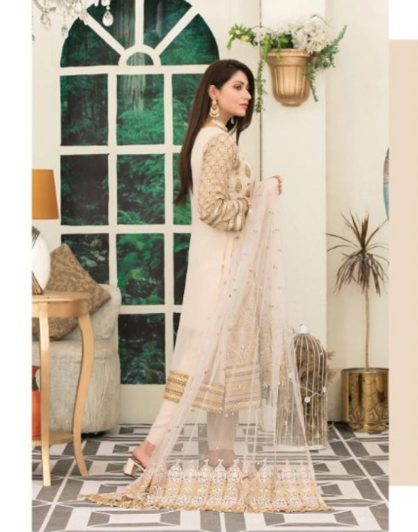 Embroidered Chiffon Suits