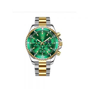 Olevs 2870GLGN Men's Quartz Watch