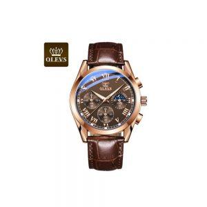 Olevs 2871BRBR Men's Quartz Watch