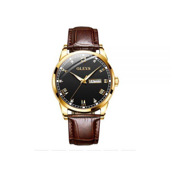 Olevs 6896BRB Men's Quartz Watch
