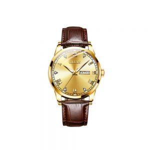 Olevs 6896BRGL Men's Quartz Watch