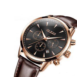 Olevs 2860BRB Men's Quartz Watch