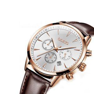 Olevs 2860BRW Men's Quartz Watch