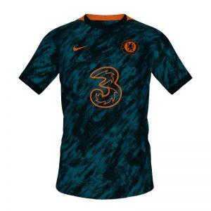 Chelsea Third Player Kit 2021-22