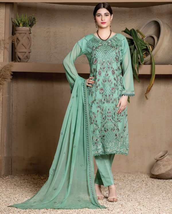 Luxury Embroidery Suits