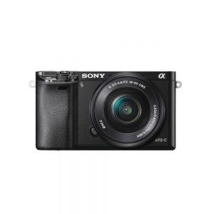 Sony-a6000-ILCE-6000L-E-mount-Camera-with-APS-C-Sensor-SELP1650-Lens-Black