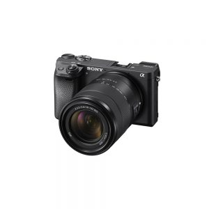 Sony-a6300-ILCE-6300M-E-mount-Camera-with-APS-C-Sensor-18-135mm-Zoom-Lens-Black