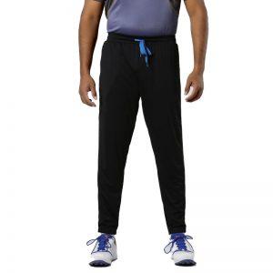 TRACK-PANTS-SLIM-FIT-TPR-500-ADULTS-CRICKET-ALL-SPORTS-BLACK
