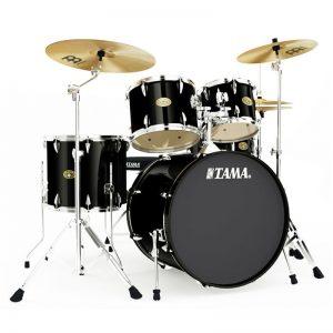 Tama-Imperialstar-IM52KH6-BK-Acoustic-Drum-Set-Diamu