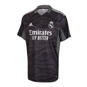 Real Madrid Home Authentic Goalkeeper Jersey 2021-22